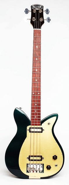 NELSON Coquette Bass Green Double Pickup
