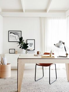 Bring in a potted plant: http://www.stylemepretty.com/living/2015/08/01/8-easy-updates-that-add-polish-to-your-space/