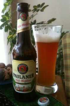 Beer time... Paulaner Hefe - Weissbier. One of the best...