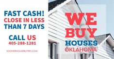 Sell Your House Fast, Selling Your House, Midwest City, We Buy Houses, Fast Cash, Shawnee, Oklahoma City, Home Buying, Norman