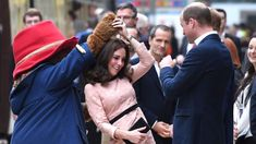 "Prince William Kate & Prince Harry visits ""Paddington 2"" charity event"