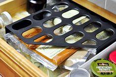 Ideaal: tijdschriftcassettes om je keukentools in op te berggen - Culy.nl