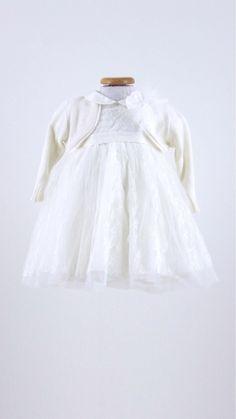 e9598fc3c2339 Abito Battesimo Bimba Teneri e Belli - Abbigliamento Neonati Bolle di Sapone