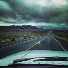 Road trip. High desert