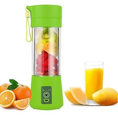 Buy Online Portable Juice Blender USB Juicer Cup Household Multi-function Fruit Mixer Six Blades Mixing Machine Smoothies Baby F