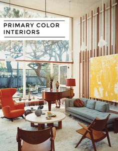 Primary Color Interiors// http://interiorcollective.com/creativity/how-to-design-with-primary-colors