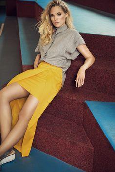Blouse Linnea, Skirt Liska | Andrea Sauter Swiss Fashiondesign | Spring/Summer 2017 | Photo by Ellin Anderegg