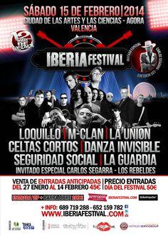 Iberia Festival 2014 en Valencia