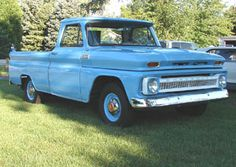 1965 Chevy C-10, Six cylinder automatic
