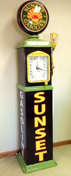 1930's Sunset Gasoline Gas Pump    http://www.drewrynewsnetwork.com/misc.php?do=postrelease_ap=0_rk=634974933948093402_t=8911911