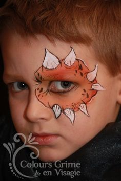 Boys Stuff Face Painting For Boys, Face Painting Designs, Body Painting, Halloween Makeup For Kids, Kids Makeup, Halloween Face, Facial, Animal Paintings, Face Paintings