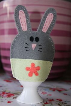 bun egg cosy by Claire Payne