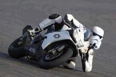Two wheel trooper
