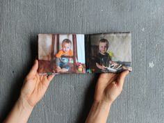 ke your child a DIY one of a kind FabricPhoto Book she can play with? This crafty photo book is perfect for all little hands because it's s...