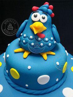 GALINHA PINTADINHA cake - Google Search