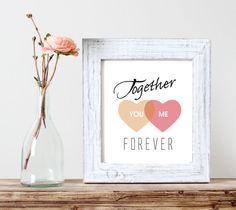 Together - Forever by Sophie on Etsy
