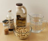Sherm's: TOUGHER TIMES: EASY ALMOND MILK (home made)