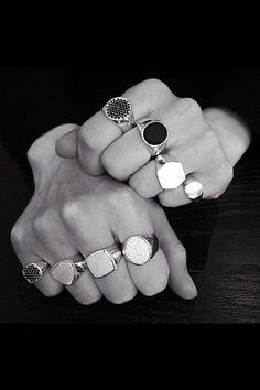 Tom Wood Rings