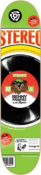 "Stereo Benny Fairfax Cereal Skateboard Deck - 7.62"" x 31.2"" - Stereo Skateboards Decks - Warehouse Skateboards Skate Shop"