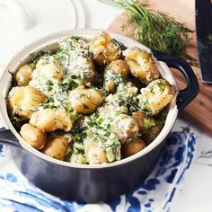 Hyrskypotut | Yhteishyvä Vegan Foods, Vegan Recipes, Summer Recipes, Great Recipes, Scandinavian Food, Just Eat It, Quick Meals, Potato Recipes, I Love Food