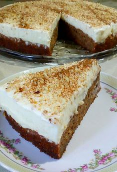 Greek Sweets, Greek Desserts, Greek Recipes, Greek Pastries, Cheesecake, Sweets Cake, Creative Food, Food To Make, Dessert Recipes