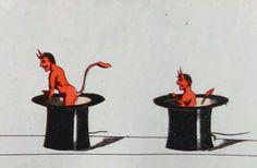 Gif : The devil made me do it Gif Animé, Animated Gif, Beste Gif, Animation, Aesthetic Gif, Cat Gif, Occult, Satan, Devil