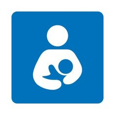 This is the international breastfeeding-friendly sign!