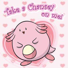 Pokémon Valentine's Day #Chansey