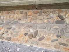 Cobbled stone streets in Harpers Ferry, WV.