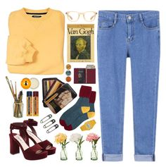 """""""Waiting in the Sun"""" by dana-rachel ❤ liked on Polyvore featuring Oliver Peoples, Casio, Miu Miu, Burt's Bees, Royce Leather and PEONY"""