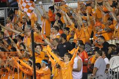 Supporters Section on Tuesday night