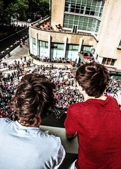 old picture of louis and harry