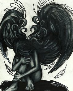 Fallen Angel Drawings | Fallen Angel by ~kurtcrawler on deviantART