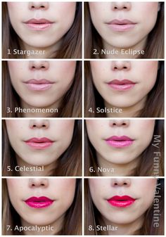 Rimmel Apocalips Lip Lacquer Lip Swatches