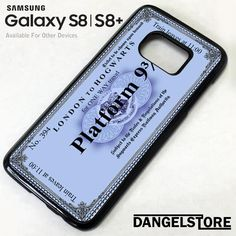 hogwarts blue platform For Samsung Harry Potter Phone Case, Samsung Device, S8 Plus, Hogwarts, Platform, Train, Phone Cases, Blue, Heel