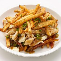 Chicken and Cheese Poutine Recipe