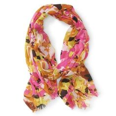 14cabfc4b37 Aeropostale Womens Bright Abstract Scarf 901 Classic