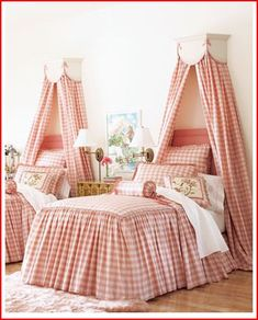 Adorable bedroom for twin girls brought to you by www.twinsgiftcompany.co.uk