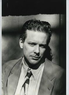 """Mickey Rourke During the Filming of Alan Parker's """"Angel Heart"""" Photos by Helmut Newton"""