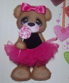 ELITE4U Tear Bear Girl Tutu Pink Paper Piecing Scrapbook Card Album | eBay
