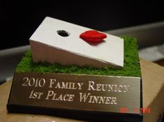 Cornhole Family Reunion Trophy