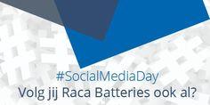 Vandaag is het SocialMediaDay | Volg jij ons ook al?