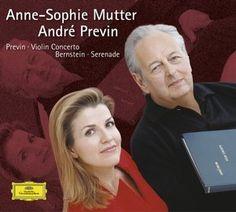 PREVIN Violin Concerto - Mutter / Previn - Deutsche Grammophon