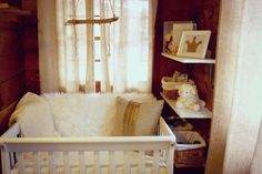 How to transform a tiny space into a perfectly curated nursery! #nursery