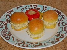 Chef JD's Food and Recipe Blog: Mini Tarragon Roll Herbes de Provence Egg Salad Sa...