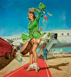 Al Brule (via Pin Up Girls Gallery)