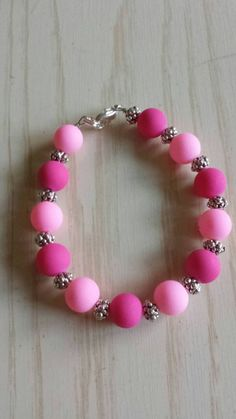 Check out this item in my Etsy shop https://www.etsy.com/listing/239580938/pretty-in-pink-bracelet