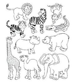 Endangered Animals Coloring Pages. 20 Endangered Animals Coloring Pages. Endangered Animals Coloring Pages Animals From north Zoo Animal Coloring Pages, Colouring Pages, Coloring Pages For Kids, Coloring Books, Animal Paintings, Animal Drawings, Drawing For Kids, Art For Kids, Le Zoo