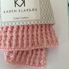 Karen Klarbæks Verden: Hæklet vaffel karklud DIY
