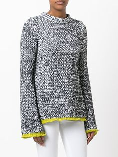 Joseph marl knitted jumper